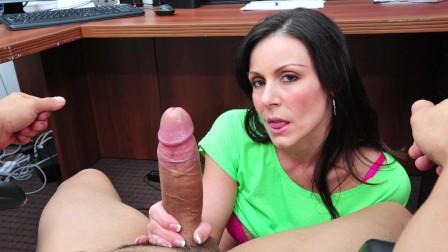 BANGBROS - Busty PAWG Kendra Lust Sucks Bruno Dickemz s Dick At Work